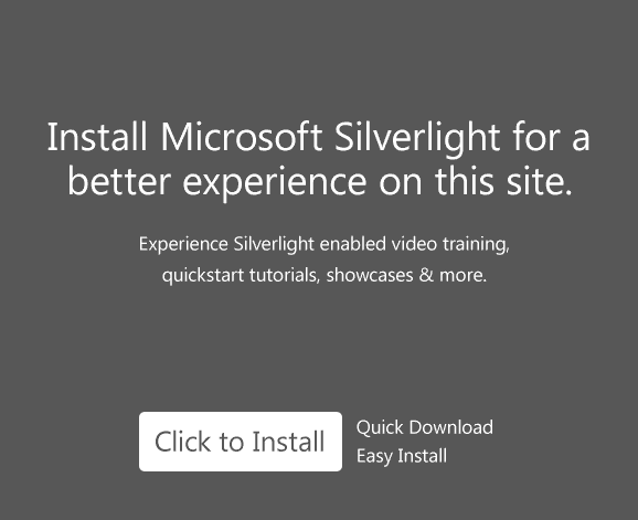 Please install Silverlight or click download to watch video locally.
