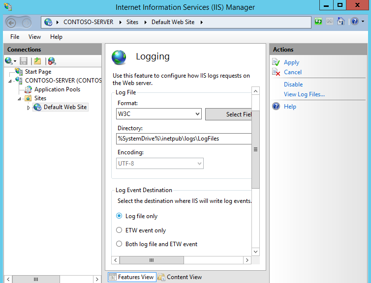 Windows Change Home Directory